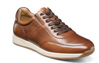 Florsheim Fusion Moc Toe Lace Up Sneaker Cognac Leather 14215-221