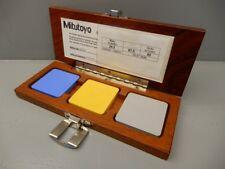 Mitutoyo 64AAA964 Durometer Prüf Block Satz Test Block Calibration Set