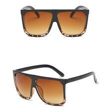 Cat Eye Women Square Sunglasses Designer Retro Big Frame Eyeglass Shades
