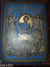 Reidelbach Hans König Ludwig I von Bayern 1888 bella legatura