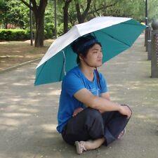 1PC New Unisex Umbrella Hat Fishing Large Umbrella Cap UV Sun Protection Parasol
