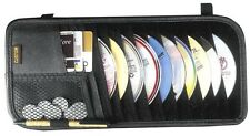 10 Pocket Car Truck Sun Visor Organizer CD DVD Holder Storage Bag Accessories