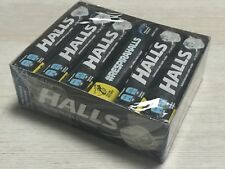 HALLS Intense Cool Cough Drops, (Menthol, 9 Drops, 12-Pack) Extra Strong