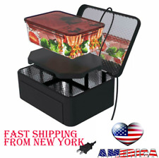 Portable Electric Heater Lunch Bag Food Warmer Mini Microwave Oven Car Office