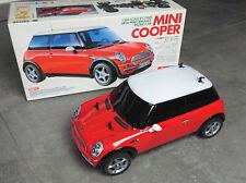 Tamiya M-03L Chassis mit Mini Cooper Karosserie und OVP 58295 Vintage FWD RC Car