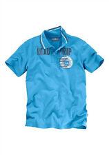 Herren-Polo-Shirt Grey Connections blau Gr. M und L