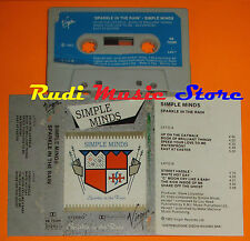 MC SIMPLE MINDS Sparkle in the rain 1983 italy VIRGIN VK 72300 cd lp dvd vhs (*)