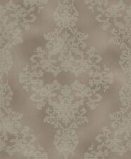 Rasch Tapete Diamond Dust 2016 450415 Ornamento De Oro Con Brillo Marrón fibra