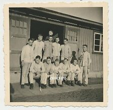 Foto -Soldaten im Drillich  2.WK ( L793)