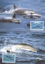 Niue 1993 Mi MK 822-25 WWF Animals Pets Tiere Zwierzęta Dolphins Delphine