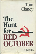Tom Clancy  Signed  Hunt For Red October  -  Later Printing 17th  VG