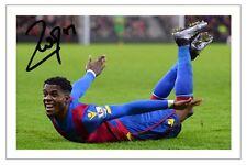 Wilfried Zaha CRYSTAL PALACE FOOTBALL signé autographe photo print