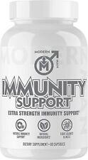 Modern Man Immunity Support Vitamin C, Elderberry, Mushroom Extra Strength 60ct