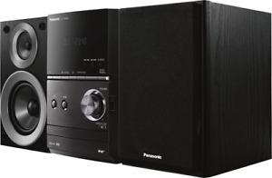 Panasonic SC-PM602EG Schwarz Micro Stereo System 40Watt CD UKW DAB Bluetooth NEU