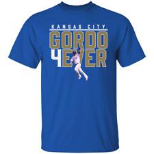 Men's Alex Gordon #4 Kansas City Royals Baseball Team T-Shirt M-3XL