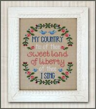 My Country Cross Stitch Pattern