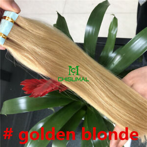 RUSSIAN 14-26 TAPE IN HAIR 100%HUMAN HAIR EXTENTION 20pcs/pack SKIN WEFT 30g-70g
