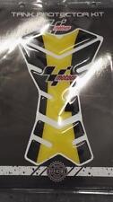 Almohadillas De Protector De Tanque Moto GP Motocicleta Negro Amarillo Cbr Gsxr Hornet BANDIT ETC