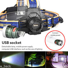 10000LM LED Headlight Headlamp Cree XM-L T6 Head Light Camping Lamp Torch Hot