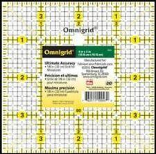 """PRYM OMNIGRID 4"""" x 4"""" SQUARE TEMPLATE - QUILTING RULER PATCHWORK QUILTING 611472"""