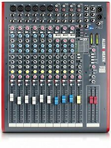 Allen Heath Usb Equipped With High-Quality Effects Multipurpose Mixer Zed 12Fx