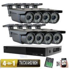 8CH 5-in-1 DVR 2.6MP 4-in-1 3-12mm Varifocal Lens Security Camera System TVI 4H