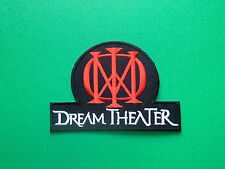 HEAVY METAL PUNK ROCK MUSIC SEW ON / IRON ON PATCH:- DREAM THEATER (b) RED