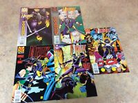 NINJAK #18,19,20,21,22  LOT OF 5 NM COMIC 1995 VALIANT