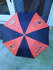 Vintage Baltimore Orioles Bird Logo and Gulf Promotional Umbrella Giveaway