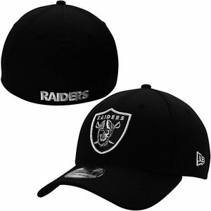 Las Vegas Raiders New Era 39THIRTY NFL Team Classic Stretch Fit Flex Cap Hat
