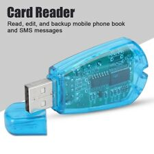USB SIM Card Reader Writer Clone Copier Backup Adapter Sim Cards GSM CDMA WCDMA