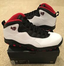 0929a8e807cc Nike Air Jordan Retro 10 X Chicago 45 Size 15 Black White Red Bred Double  Nickel