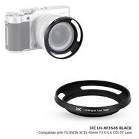 JJC Black Metal Lens Hood for Fuji X-A5 X-T100 Lens FUJINON XC15-45mm F3.5-5.6
