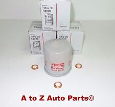 Nissan Altima, 370Z,Pathfinder,Etc Engine Oil Filters & Washers (Set of 3), OEM