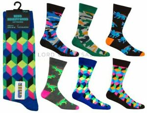 Mens Novelty socks, 6 different designs (see photos) size 6-11