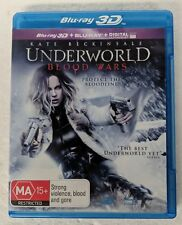 UNDERWORLD: Blood Wars 3D Blu-ray + 2D Blu-ray 2-DISC All Region oz seller