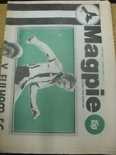 11/02/1978 Notts County v Fulham  (Newspaper Style, Folded). Item appears to be