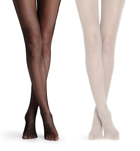 Jefferies Womens Micro Fishnet Pantyhose Footed Stocking Tights 1 Pack