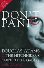 Don't Panic: Douglas Adams & The Hitchhiker's Guide to the Galaxy-ExLibrary
