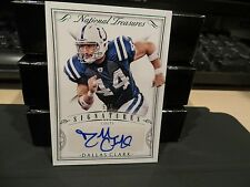 National Treasures Emerald Autograph Signatures Colts Dallas Clark  5/5  2015