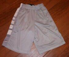 Nike Dri-Fit ELITE Basketball Shorts Men's Size Small Gray/White