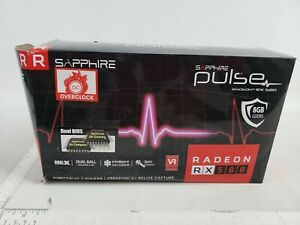 Sapphire Pulse Radeon RX 580 8gb GDDR5 Dual HDMI/DVI-D/Dual DP OC W/BP (UEFI)