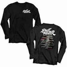 Street Fighter - Versus - Front And Back Print Adult Long Sleeve T-Shirt