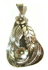 """TAXCO .925 Sterling Silver Unique Large Pendant from Mexico 2.75""""x1 6/8"""""""