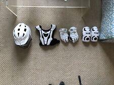 Lacrosse Youth Large Gear Set Warrior Pads & Cascade Helmet