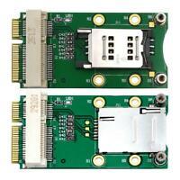Mini PCI-E Adapter with SIM Card Slot for 3G/4G WWAN LTE WLAN CDMA GPS Card #JT1