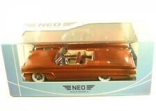 Neo Models Lincoln CONTINENTAL MKIII Convertible 1958 (copper)