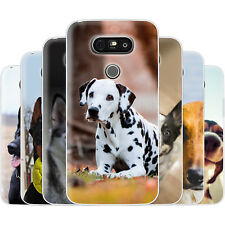 Dessana Canine TPU Silicone Protective Cover Phone Case Cover For LG