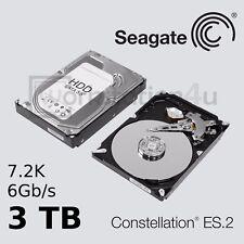 """NUEVO 3tb Seagate Constellation es.2 SED Disco duro SATA 3,5"""" 7200u/min"""