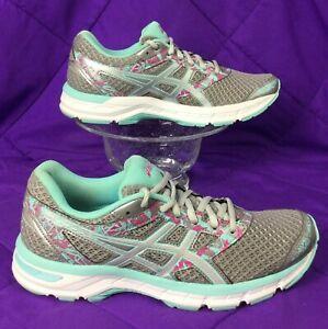 ASICS Gel EXCITE 4 Aqua Silver Magenta Running Walking Shoe 39.5 women's 8